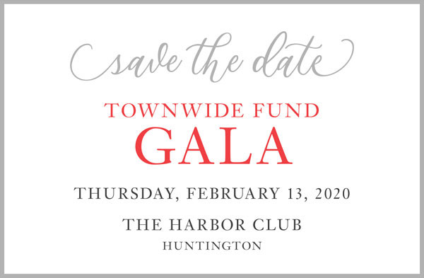 Save The Date – Townwide Fund Gala, February 13, 2020