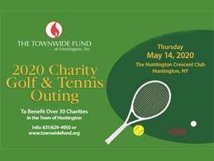 Save The Date! 2020 Townwide Fund Charity Golf & Tennis Outing